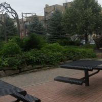 a city park, Гранд-Форкс