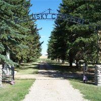 McClusky City Cemetery, Минот