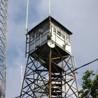 High Top Mountain Fire Tower, Burke County, NC, Валдес
