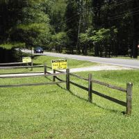 Frack Free Zone in Cumnock, NC---st, Гранит-Куарри