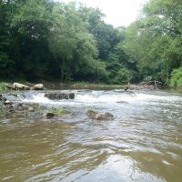 Deep river rapids., Гранит-Фоллс