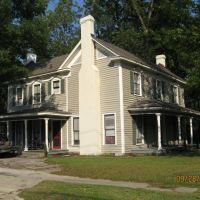 Glenn-Pender-Moore House, c.1880,  Greenville, NC, Гринвилл
