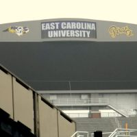 East Carolina University Scoreboard, Гринвилл