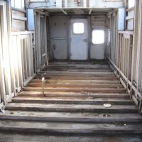 Stripped Interior of caboose, Гринвилл