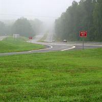Foggy Road Near Thomasville, NC, Давидсон