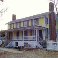 Dr. Shubal Gardner Coffin House C. 1855---st, Джеймстаун
