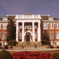 Jamestown School--Now The Library---st, Джеймстаун