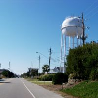 Wrightsville Beach water tower, Джексонвилл
