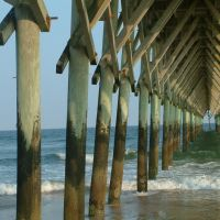 Pier at Topsail Beach, NC, Джексонвилл