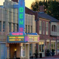 Gem Theatre, Ca 1936, View W, Каннаполис