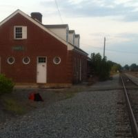 Kannapolis NC Freight Depot Looking North 15 Sept 2012, Каннаполис