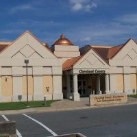 Cleveland County Courthouse - Shelby, NC, Кливленд