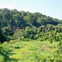 Abandoned 1st Broad River Railroad Bridge, Кливленд