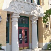 Shelby Masonic Temple Entrance Detail, Кливленд