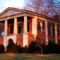 Philanthropic Literary Society Hall at Davidson College (view NEE), Корнелиус