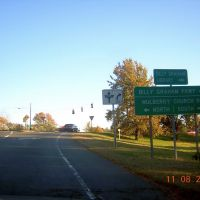 I-85 At Billy Graham Parkway, 11-8-2008, Кулими