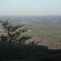 Charlotte Skyline From Crowders Mtn. 3-9-2008, Кулими