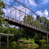 Deep River Camelback Truss Bridge, Ленойр