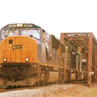 CSX #4822 @ Catawba River Bridge, Маунт-Холли