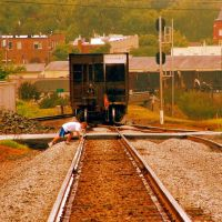 Chasing the Long Coal Trains of CSX, Маунт-Холли