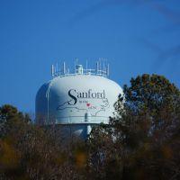 Sanford Water Tank, Норт-Вилкесборо