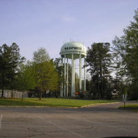 Sanford Water tower---st, Норт-Вилкесборо