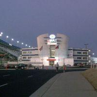 ZMax Dragway at night, Норт-Конкорд