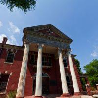 Main building at Stonewall Jackson School, Норт-Конкорд