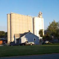 Midstate Mills Grain Silos - Newton NC, Ньютон