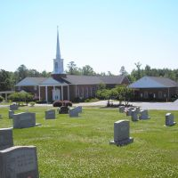Flat Springs Baptist Church---st, Роквелл