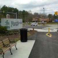 Spring Lane crossing on Endor walking trail---st, Роквелл