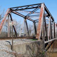 Train Bridge, Rocky Mount, NC, Роки-Маунт