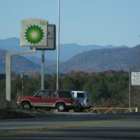 My First Look at the Blue Ridge Mountains from Northbound US-221 in Rutherfordton, NC 11/11/2011, Рутерфордтон