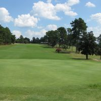 Southern Pines Golf Club - 1st Hole, Саутерн-Пайнс