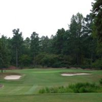 Mid Pines Golf Club - 2nd Hole, Саутерн-Пайнс