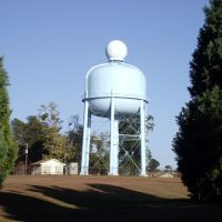 Southern Pines, NC Water Tower---st, Саутерн-Пайнс