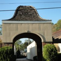 Entrance Arch To shoping in Southern Pines, NC---st, Саутерн-Пайнс