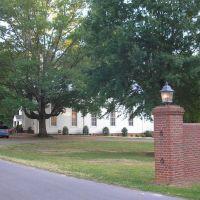Buffalo Presbyterian Church Entrance view---st, Силва