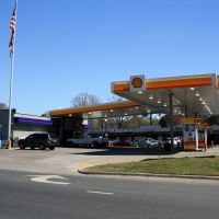 Gas Station at intersection of Powell Blvd. and Washington St., Уайтвилл