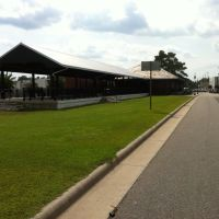 Carolina Southern Railroad Whiteville Depot August 2013, Уайтвилл