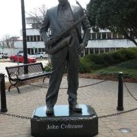 Statue of John Coltrane, Jazz artist, Хай-Пойнт