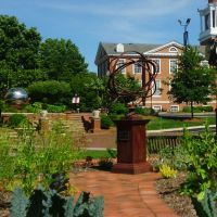 High Point University - Sculpture garden, Хай-Пойнт