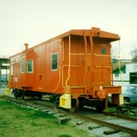 Southern Railway Caboose No. X793 on display at Hendersonville, NC, Хендерсонвилл