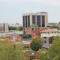 Downtown Hickory, NC from Frye Regional Medical Center parking deck, Хикори