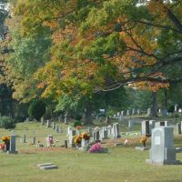 Oakwood Cementery, Hickory, North Carolina, Хикори