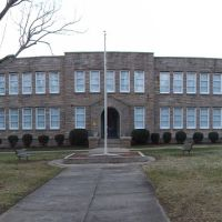 Old China Grove High School 1950s---st, Чайна-Гров