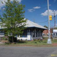 Southern Railway Depot (Circa 1900), Carrboro NC, Чапел-Хилл