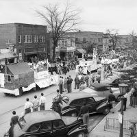 Beat Dook Parade, Franklin Street, ca.1949, Чапел-Хилл
