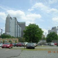 Charlotte NC From Greyhound Bus Terminal 5-14-2008, Шарлотт