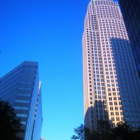 Up North Tryon Street Near Bank Of America, 11-8-2008, Шарлотт